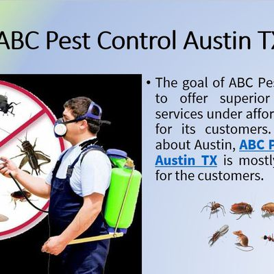 ABC Pest Control Austin TX protects your place from pests and bugs