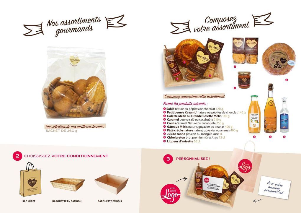 Catalogue des biscuits Ker Métiss