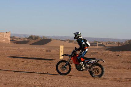 Les mystères de l'oued résumé et classement de l'étape 1 de notre rallye raid au Maroc