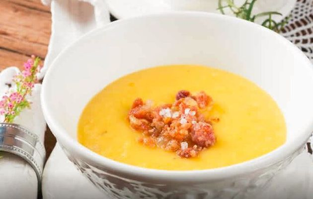 Soupe pommes de terre bacon cookeo weight watchers
