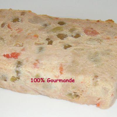 Terrine express thon/macédoine de légumes