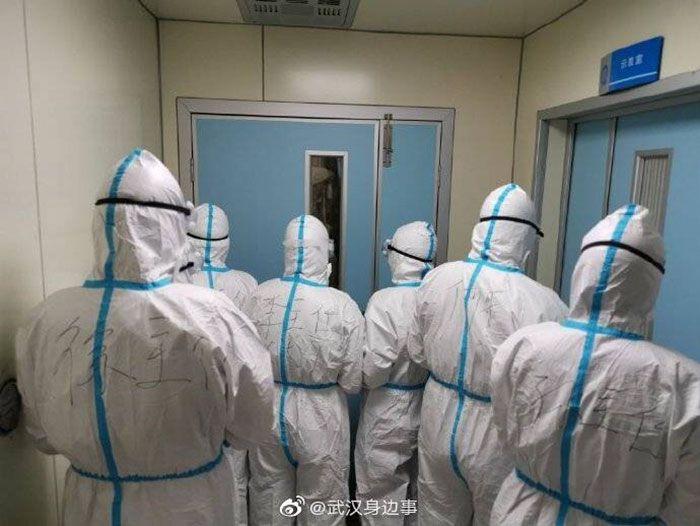 Chine. Ses images nous montrent la réalité du personnel médical travaillant à Wuhan.