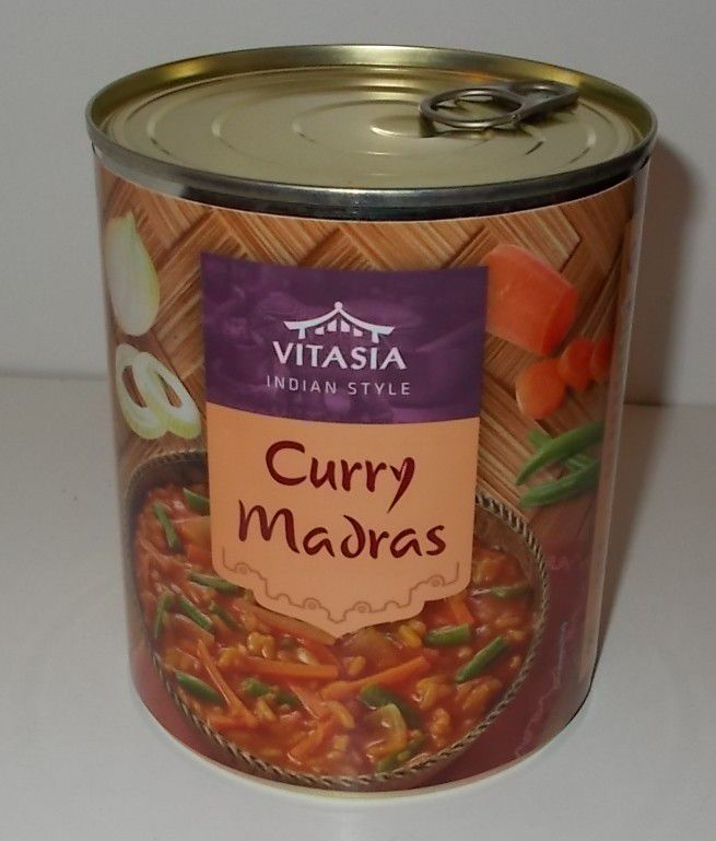 Lidl Vitasia Curry Madras Indian Style