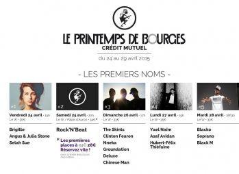 Printemps de Bourges 2015 : Thiéfaine, Black M, Asaf Avidan, Chinese Man, Groundation, Brigitte...