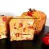 Cake salé aux 2 tomates et au chèvre d'après Edda Onorato