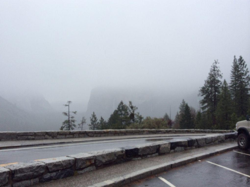 Neige au Yosemite