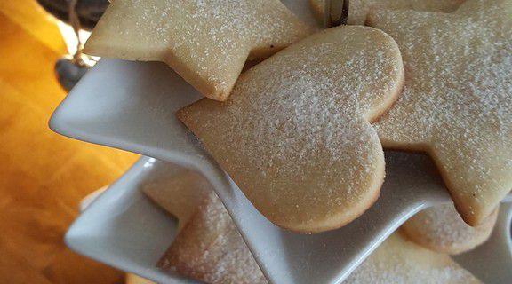 Shortbread biscuits de Noël