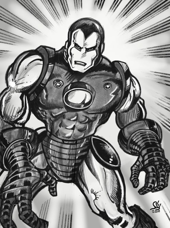 IRON MAN old school