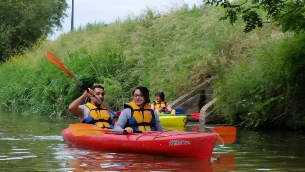 Sortie kayak à Diksmuide