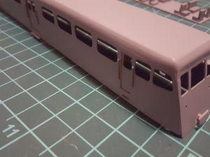 Home made railcar De Dion Bouton OC2 HOm  1/87. #autorail #DeDionBouton #autorailDeDionBouton #HOm #homemade #OC2 #autorailOC2 #OC2railcar #1/87 #réseauferréBreton #railcar