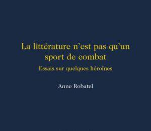 Coup de coeur... Anne Robatel...