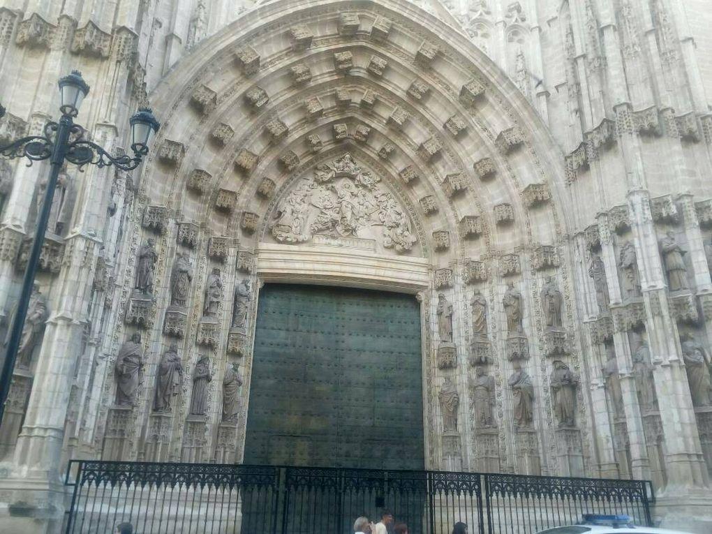 Séville - la cathédrale.