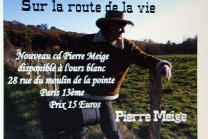 Un nouveau CD de notre ursidé Pierre Meige