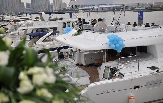 Le plus grand voilier de Shanghai a un nom, Lagoon 620