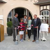 Inauguration du Club-House - GARDEN TENNIS DE CABOURG