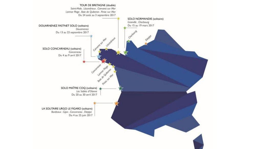 Solo Concarneau Trophée Guy Cotten -  un cru 2017 exceptionnel