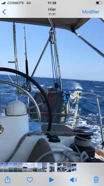 De Limnos à Lesbos Poseidon se fache