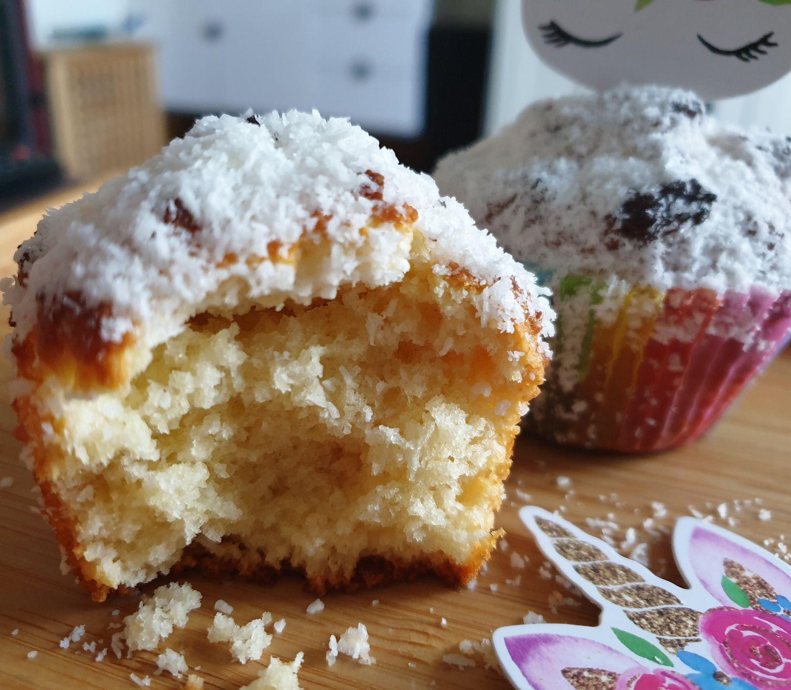Cupcakes noix de coco