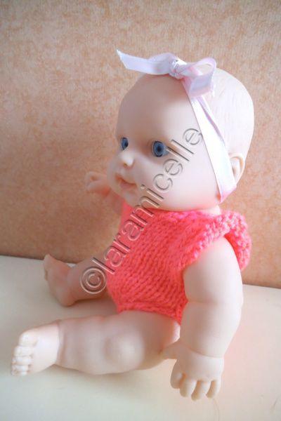 tuto gratuit poupée : un body de bébé