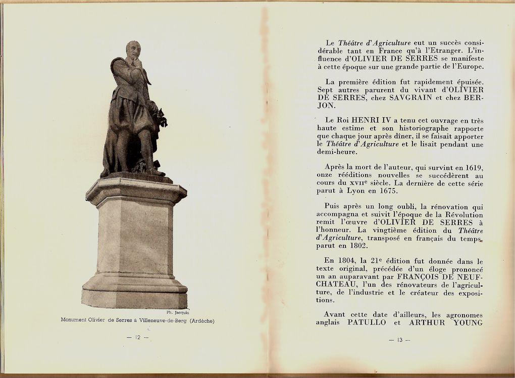 Il fut le premier théoricien de l'oenologie et de la viticulture Française