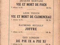 """J.-H. Rosny aîné """"Napoléon Le Grand"""" (Editions des Portiques - 1931) [service de presse]"""