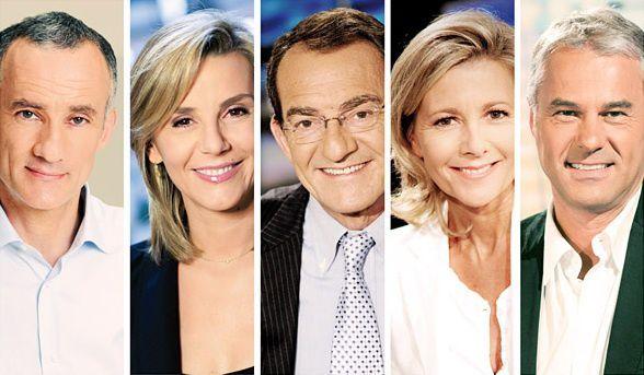 Les invités de la soirée présidentielle 2012 sur TF1