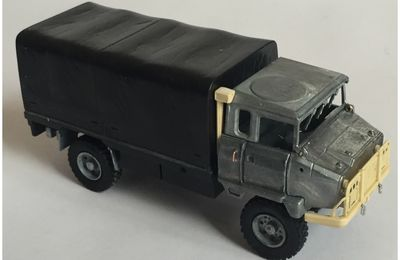 ACMAT WPK 4.40 STL/SH cargo bâché  CEF Replex / Military Model Club - 1/50 - J. Hadacek)