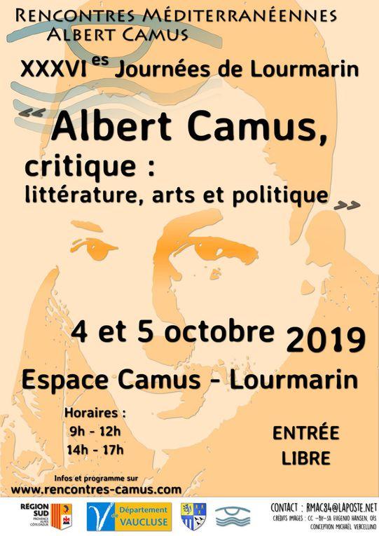 36es Journéees de Lourmarin / 4&5 octobre 2019