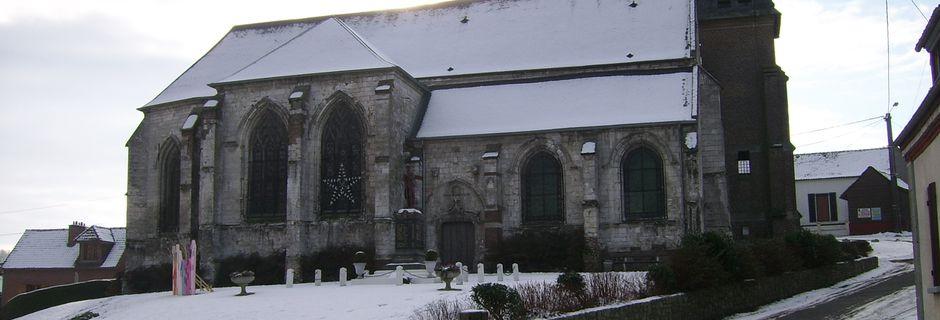 LE BOISLE: son église du XVIIème siècle