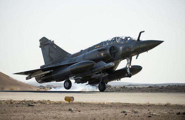 Les Mirage 2000D ont effectué leur première mission au-dessus de l'Irak