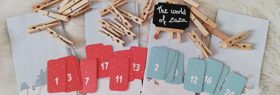 J'ai Créé mon calendrier de l'avent DIY personnalisé d'idée cadeau