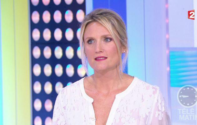 📸3 MELANIE GRIFFON ce matin @telematin @France2tv #vuesalatele