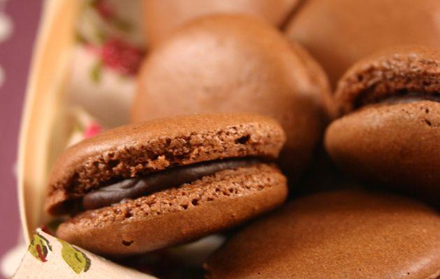 Recette n°83 : Macarons tout chocolat