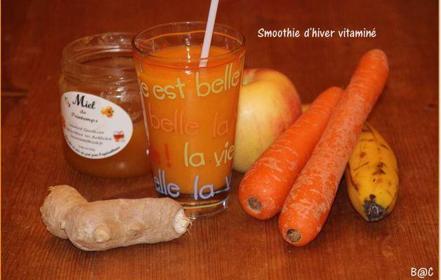 Smoothie d'hiver vitaminé