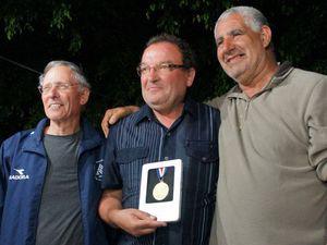 La Fédération Israélienne de Pétanque honore la Famille de Alain JUILLA