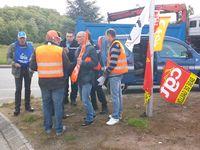 Action intersyndicale MARDI 13 MAI Parc de Tréville INTERMARCHE