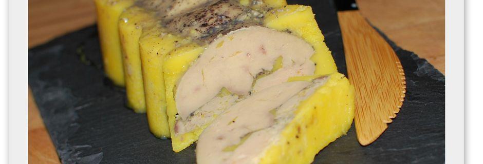 Foie gras aux 4 épices