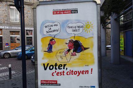 Elections départementales à Saint Brieuc (résultats)