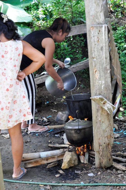 Repas de Noël à l'école de Habana