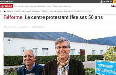 Le Centre Missionnaire de Carhaix… Les Sites internet en parlent !