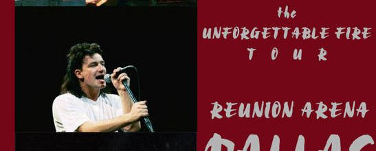 U2 -Unforgettable Fire Tour -25/02/1985 -Dallas -USA -Reunion Arena