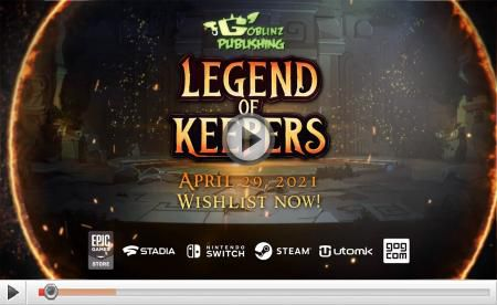 [ACTUALITE] Legend of Keepers - Sur PC, Google Stadia et Nintendo Switch le 29 avril