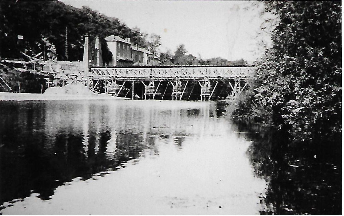 Exclusif : Le pont d'Auzon en béton armé