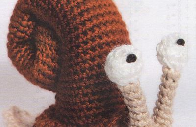 Tutoriel crochet - Escargot