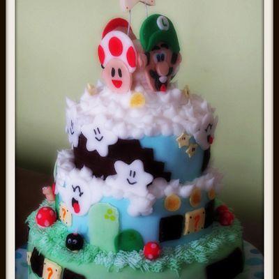 Un Autre Gâteau Mario Bross !!!