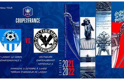 Venez nombreux soutenir les bleus et blanc dimanche en Coupe de France !