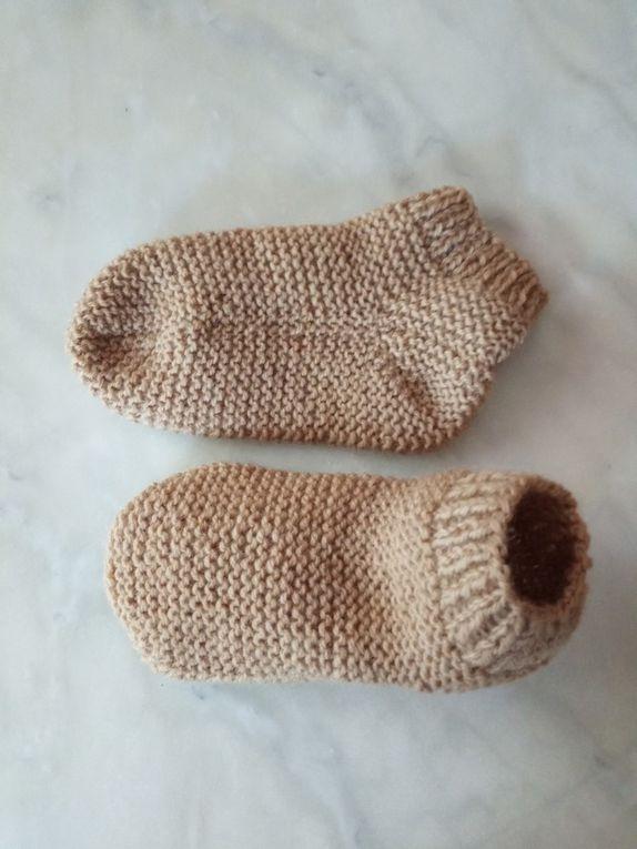 Comment décliner  de plusieurs façons un modèle de chaussettes