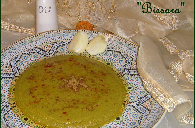 Bissara : Purée de Pois Cassé au Cumin & à l'Huile d'Olive