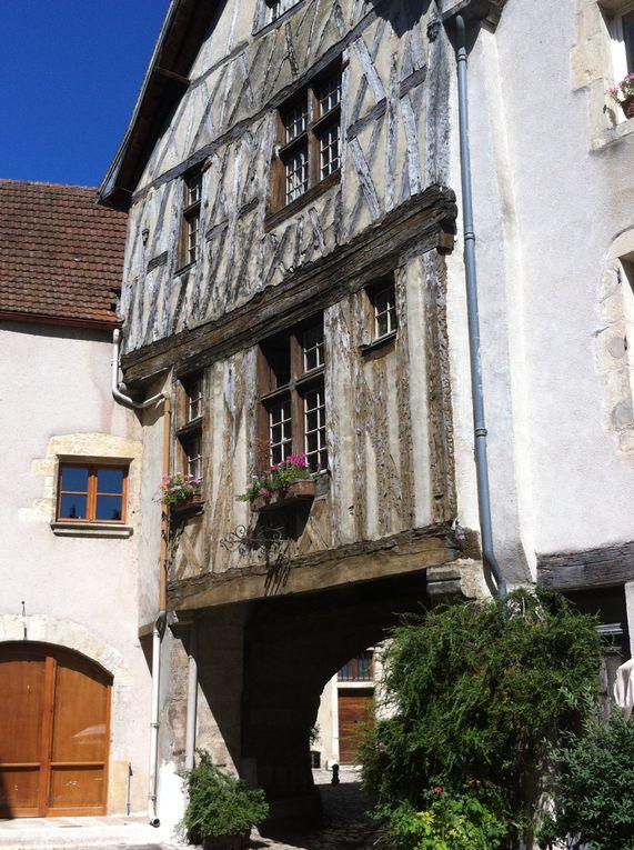 Escapade à Noyers-sur-Serein (Yonne) en Bourgogne