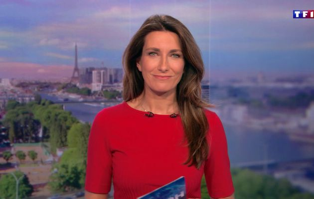 📸32 ANNE-CLAIRE COUDRAY @ACCoudray @TF1 @TF1LeJT pour LE 20H WEEK-END #vuesalatele